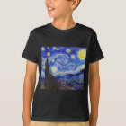 "Vincent Willem van Gogh , "" Starry Night "" Tシャツ"
