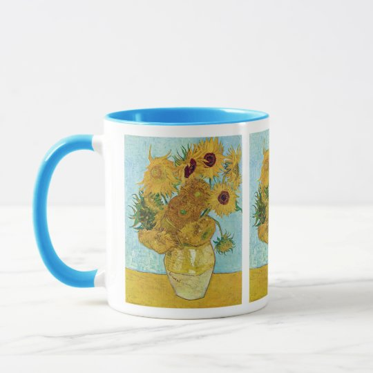 Vincent Willem van Gogh, Sunflower マグカップ