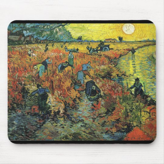 Vincent Willem van Gogh, The Red Vineyard マウスパッド