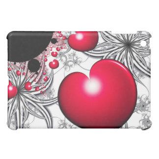 Vinehearts Spiderplantsの赤いハートのiPad Miniケース iPad Miniケース