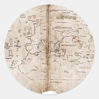 Vinlandの地図 ラウンドシール