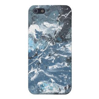 Vinn Wongの抽象美術-隆起 iPhone 5 カバー