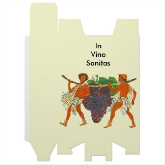 VinoのSanitasのブドウのギフトのワイン箱のヴィンテージ ワインギフトボックス