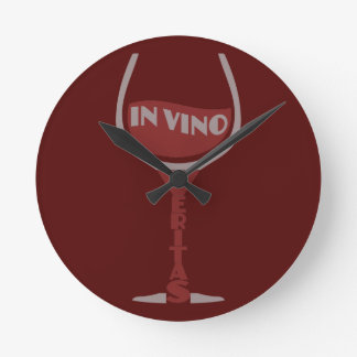VinoのVeritasのカスタムな柱時計 ラウンド壁時計