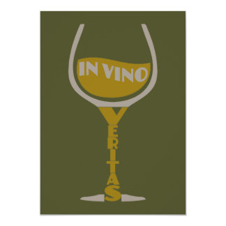 VinoのVeritasのカスタムの招待状 カード