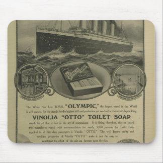 Vinoliaオットーの化粧石鹸広告 マウスパッド