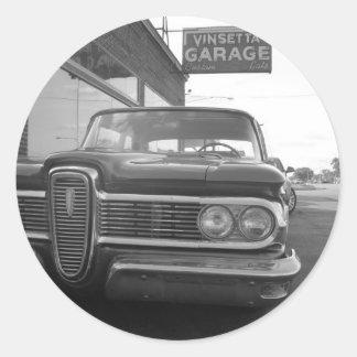 Vinsettaのガレージ ラウンドシール