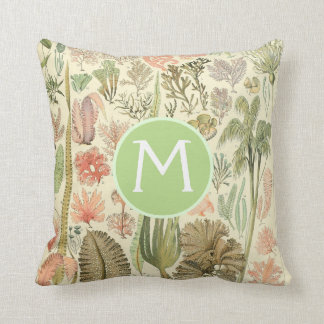 Vintage Botanical Illustrations | Custom Pillow クッション