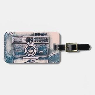 Vintage Camera luggage tag ラゲッジタグ