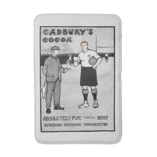 Vintage Cocoa Rugby Bath Mat バスマット