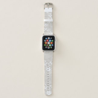 Vintage Floral Lace Apple Watch Band 42MM Apple Watchバンド