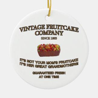 Vintage Fruitcake Company セラミックオーナメント