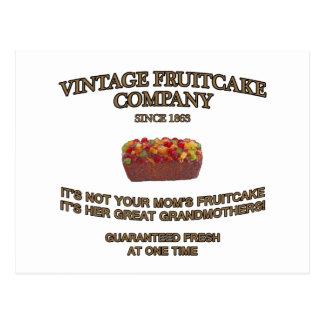 Vintage Fruitcake Company ポストカード