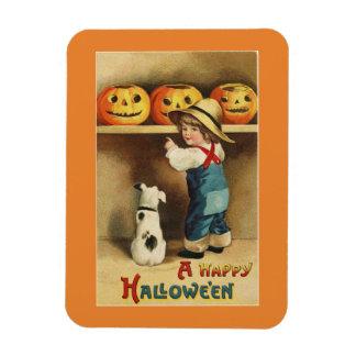 Vintage Halloween Boy マグネット