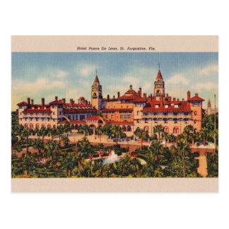 Vintage Hotel Ponce De Leon St. Augustine Postcard ポストカード