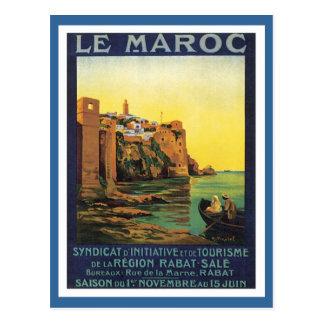 Vintage Le Marocモロッコ ポストカード