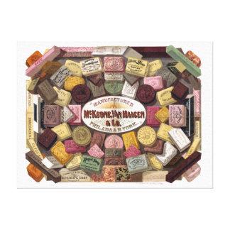 Vintage McKeone van Haagen Soap広告 キャンバスプリント