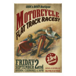 VINTAGE MOTORCYCLE EVENT プリント
