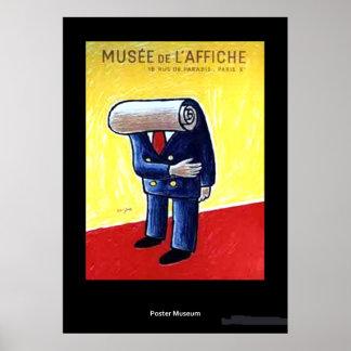 Vintage Museum de L'affiche Poster ポスター