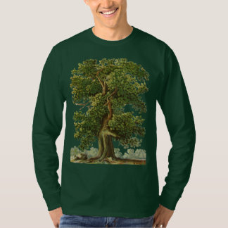 Vintage Old Oak Tree Gardening Tshirt Tシャツ