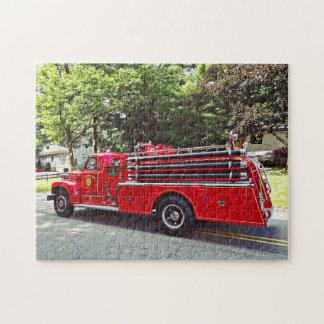 Vintage Pumper Fire Engine ジグソーパズル