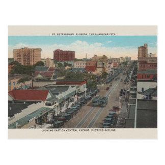Vintage St. Petersburg Florida Postcard ポストカード