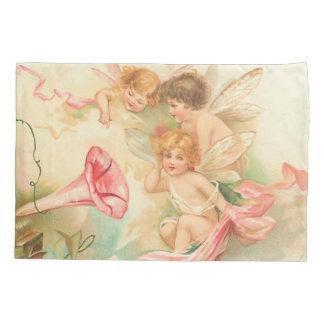 Vintage valentine cupid angel 1 枕カバー