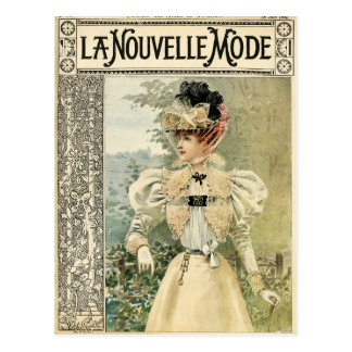 Vintage Victoriana Le Nouvelle Monde ポストカード