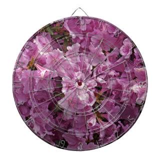 Violettのシャクナゲの花 ダーツボード