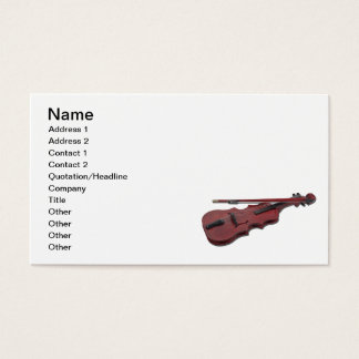 ViolinAndBow012511の名前、住所1の住所2、… 名刺