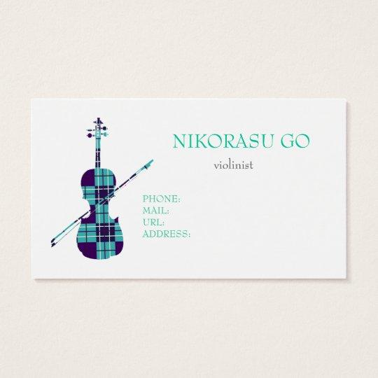 violinist 名刺
