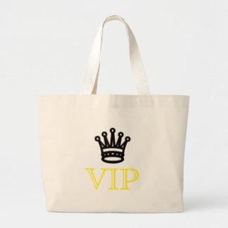 VIPの王冠のジャンボ戦闘状況表示板 ラージトートバッグ