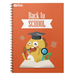 VIPKIDの新学期のノート1 ノートブック