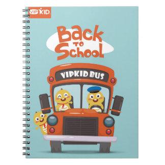 VIPKIDの新学期のノート2 ノートブック
