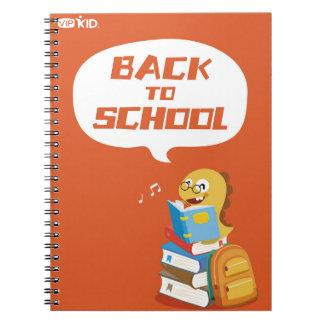 VIPKIDの新学期のノート3 ノートブック