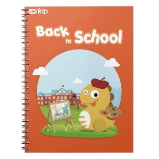 VIPKIDの新学期のノート4 ノートブック