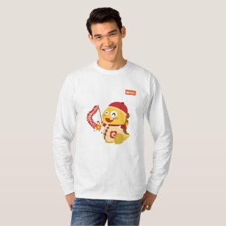 VIPKIDの旧正月の長袖のワイシャツ(人) Tシャツ