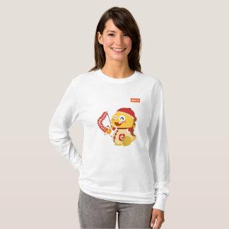 VIPKIDの旧正月の長袖のワイシャツ Tシャツ