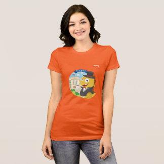 VIPKIDイギリスのTシャツ(オレンジ) Tシャツ