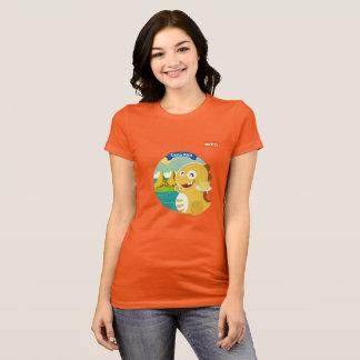 VIPKIDコスタリカのTシャツ(オレンジ) Tシャツ