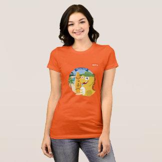 VIPKIDプエルトリコのTシャツ(オレンジ) Tシャツ