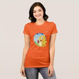 VIPKIDベルギーのTシャツ(オレンジ) Tシャツ