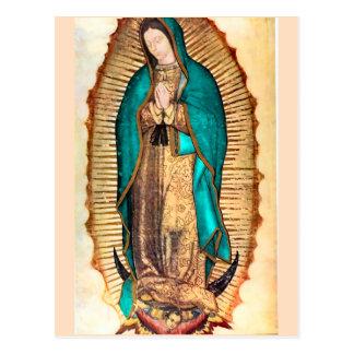 Virgen deグアダルペ ポストカード