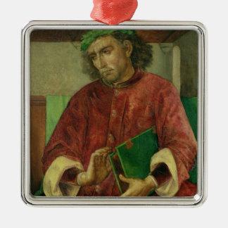 Virgil、c.1475のポートレート メタルオーナメント