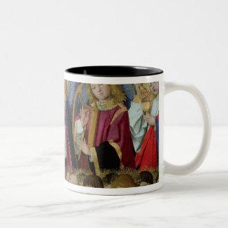 「Virginの即位からの天使、 ツートーンマグカップ