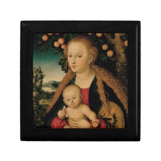 Virgin Child Under Apple Tree Cranach ギフトボックス