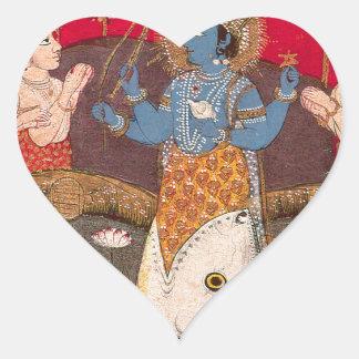Vishnuの具象 ハートシール