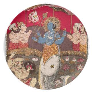 Vishnuの具象 プレート