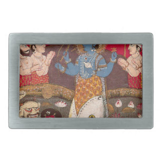 Vishnuの具象 長方形ベルトバックル