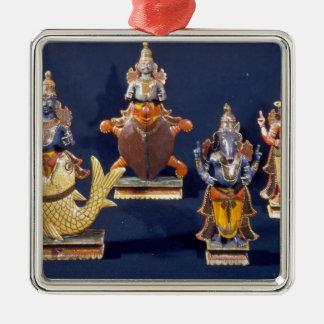 Vishnuの化身の4 メタルオーナメント